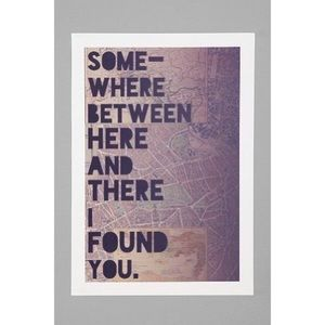 Urban Outfitters Leah Flores Art Print 13x19